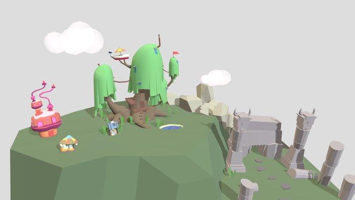 Adventure Time drafts 3D Model