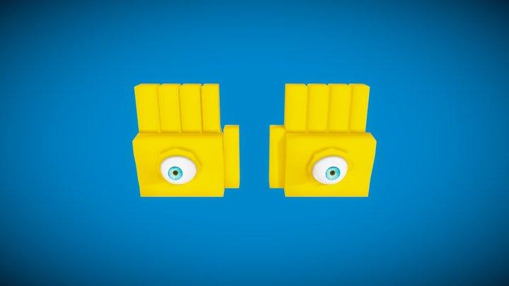 Eyerok  - Super Mario 64 - New Style =) 3D Model