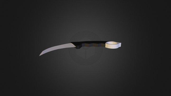 Karambit for Unturned 3D Model