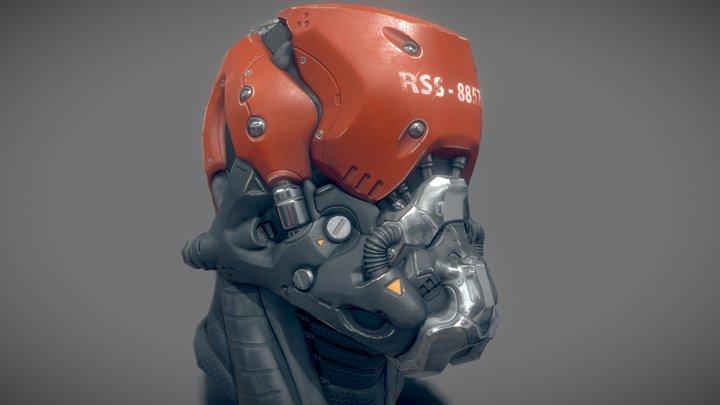 Aegis_Helmet 3D Model