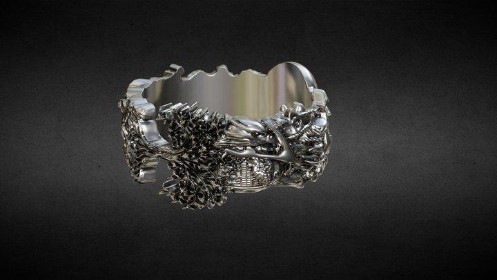 Life&Death ring 3D Model