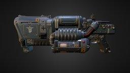 Wolfenstein Weapon 3D Model