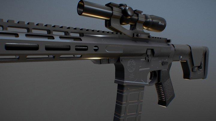Lone Star Armory TX-15 3D Model