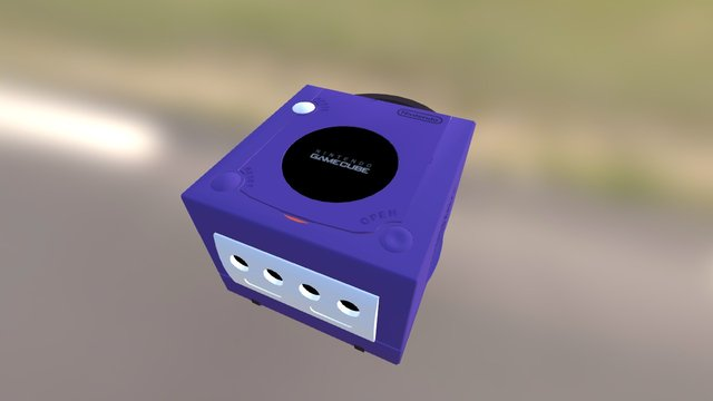 Game Cube 3D Model