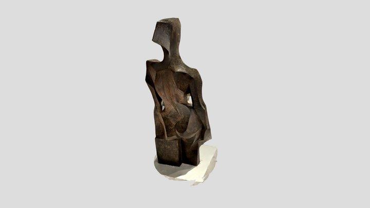 Sculpture by Josep M. Subirachs 3D Model