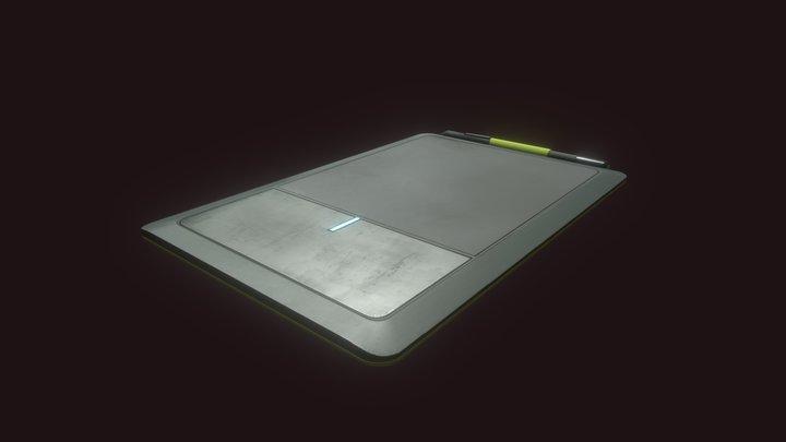DP #2 HW 10 [Drawing tablet] 3D Model