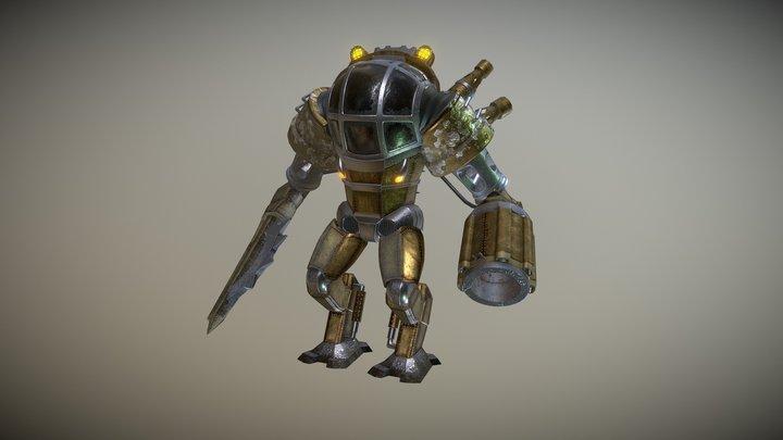 Steampunk Mech 3D Model