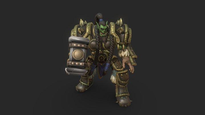 Thrall The Warchief (fan art) 3D Model