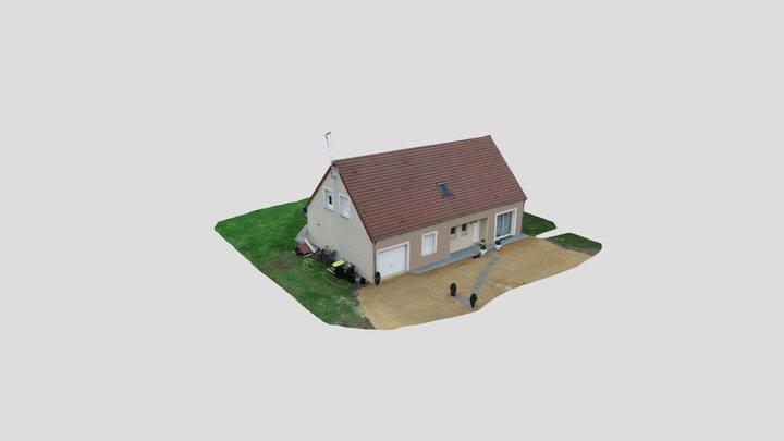 Modélisation façade par PESCAGNI - V2 3D Model