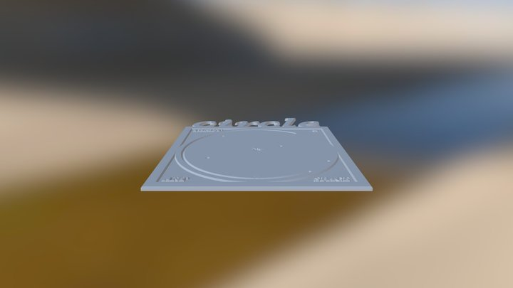 Circle Sign 3D Model