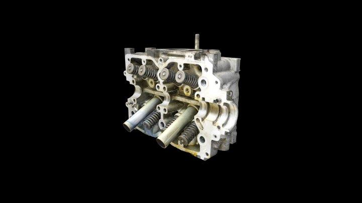 Subaru Engine Head 3D Model