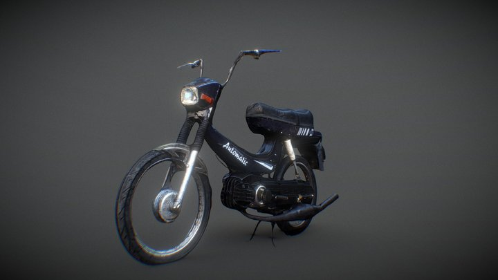 1978 Puch Moped Hero 3D Model