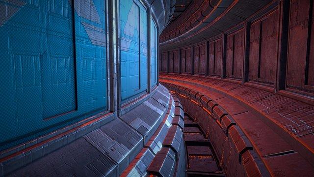016Mabc Sky Corridor 3D Model