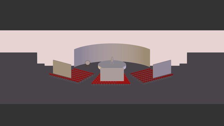 ING Pyramida - vizu 3D Model