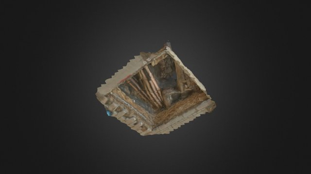 Archaeology Trench 3D Model