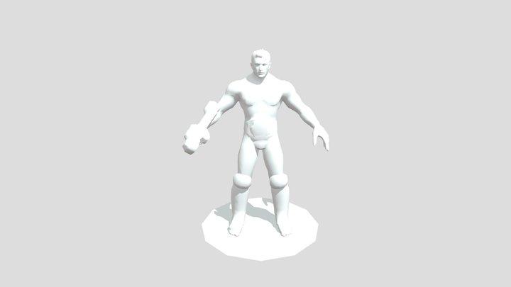 Ardan Cagefighter 3D Model