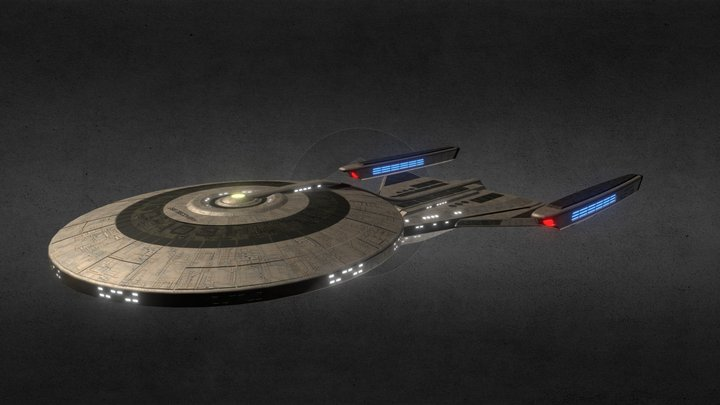 USS DISCOVERY 3D Model
