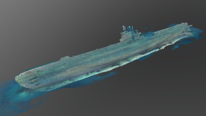 HMS Stubborn point cloud 3D Model