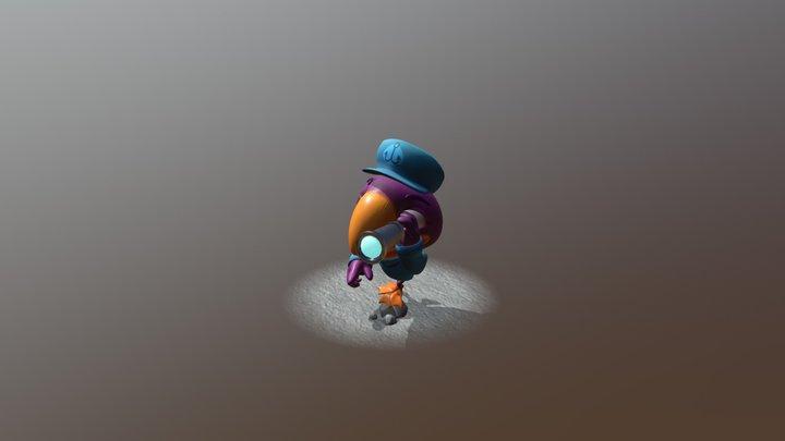 Puffin 3D Model