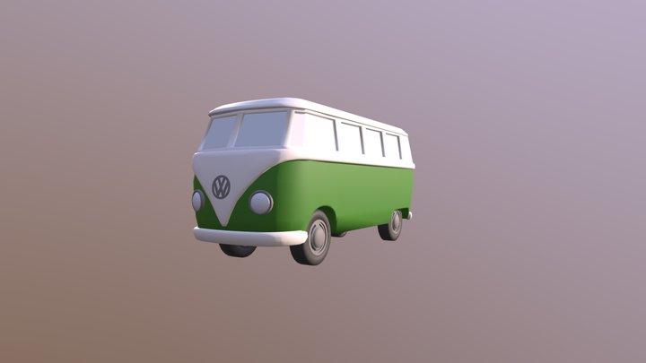 VW Van 3D Model