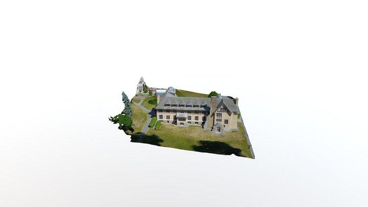 Skenadoa Hall at Hamilton College 3D Model