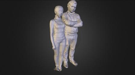 muhina 3D Model
