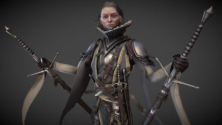 Mordred 3D Model