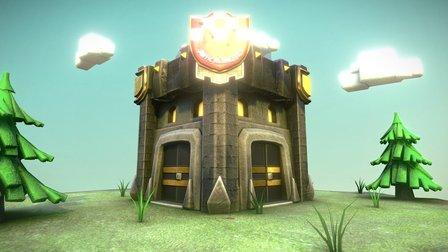 Clan Castle Level 6(Clash of Clans) 3D Model