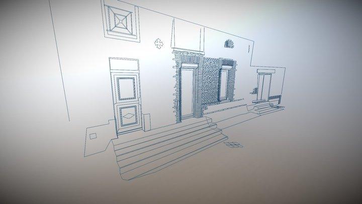 FACADE2 DXF 3D Model