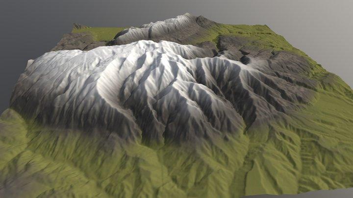 La Majella - Italy 3D Model