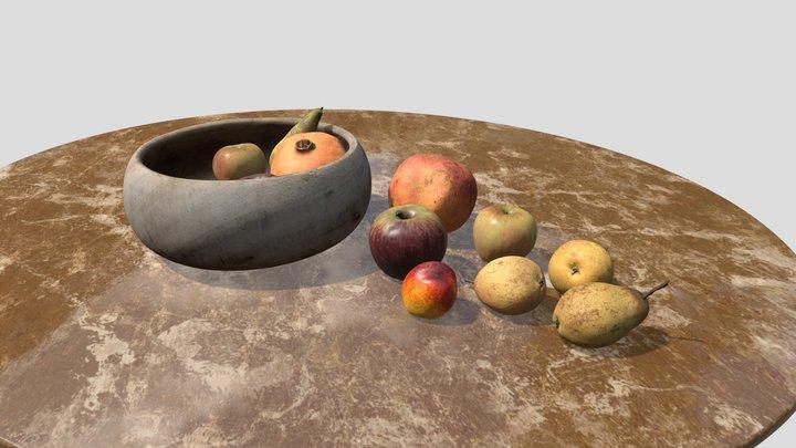 Fruits photoscan 3D Model