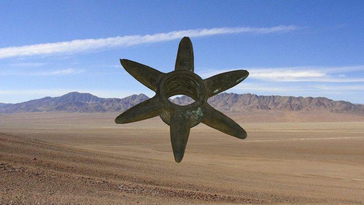 Maza Estrella. Periodo Tardío S. XV Cultura Inca 3D Model