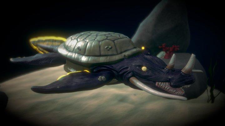 Sci-Fi Circus Challenge: Sidom 3D Model