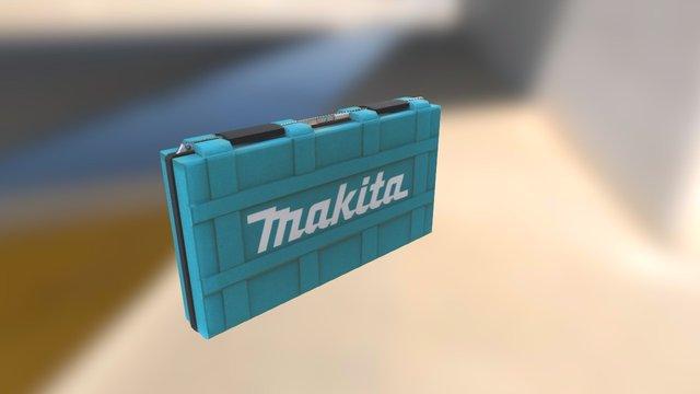 Makita Case PBR 3D Model
