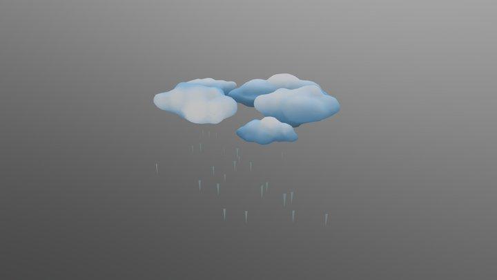 Rain 2 3D Model