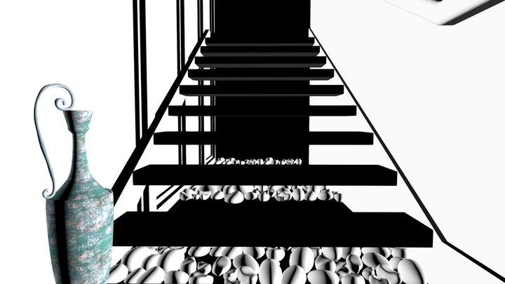 Stairwell 3D Model