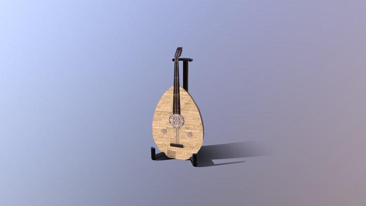 Ottoman Ud 3D Model