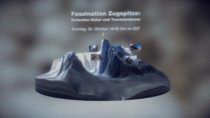 Zugspitze 3D Model