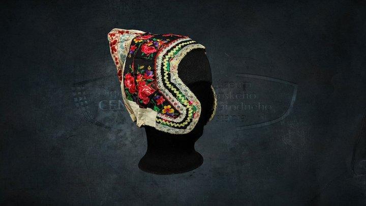 "Traditional headdress - ""čepiec"" 3D Model"