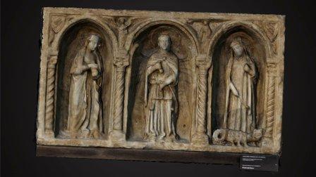 Antependium XIV century 3D Model