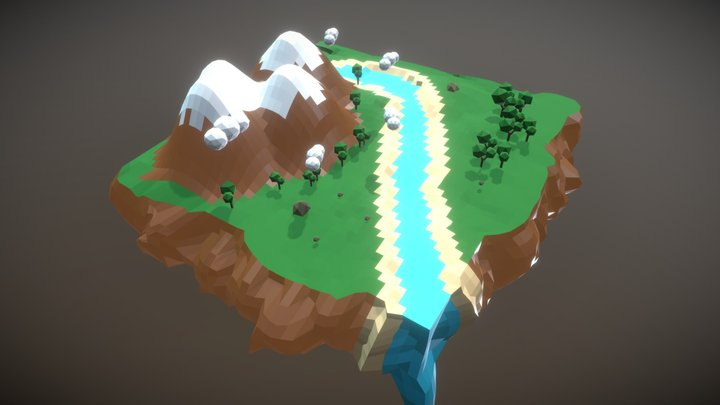 Game Environment 3D Model