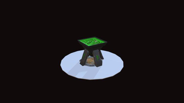 Witch's Cauldron - Skills Manitoba 2018 3D Model