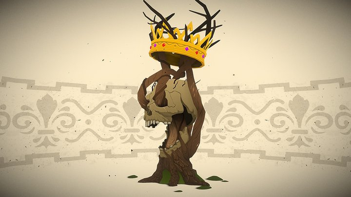 King of the Canopy - NFT Collectible 3D Model