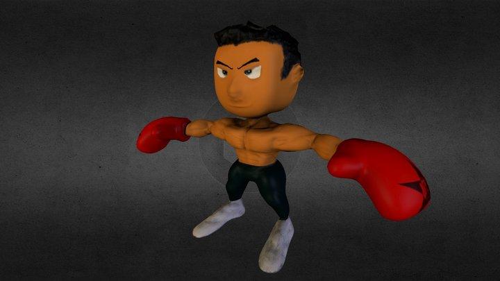 The L P Boxer (G A M E - R E A D Y) 3D Model