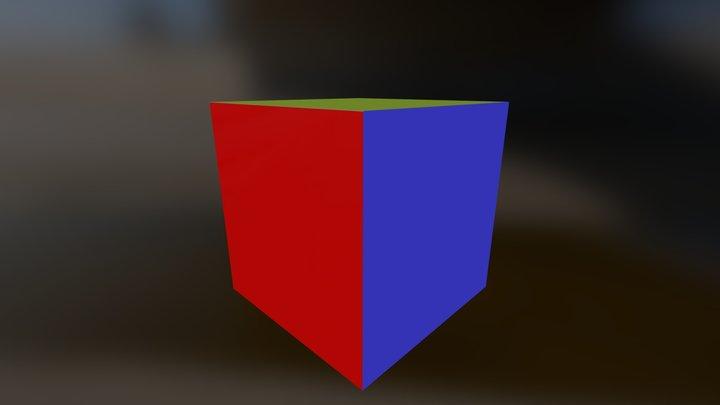 Cube2 3D Model