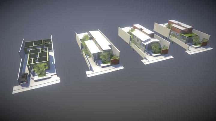 casa a 1 3D Model