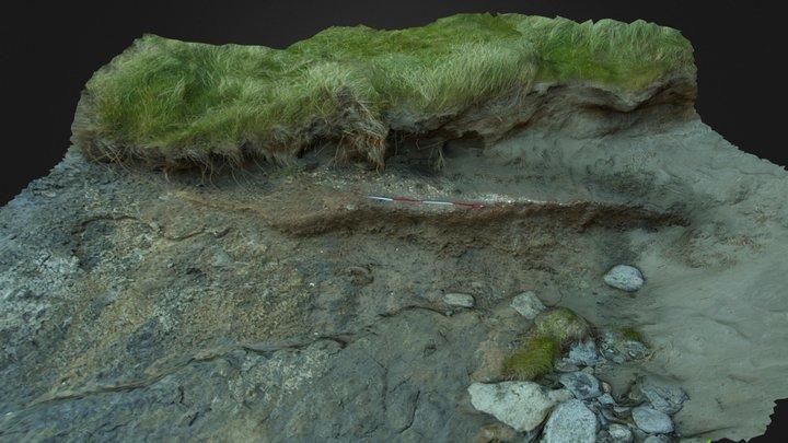 Rosses Point Midden 3D Model