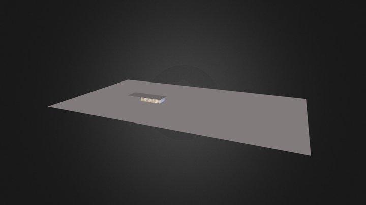 Arzua Render 3D Model