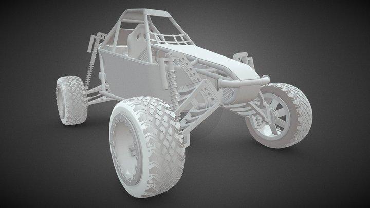 Buggy Megalodon 3D Model