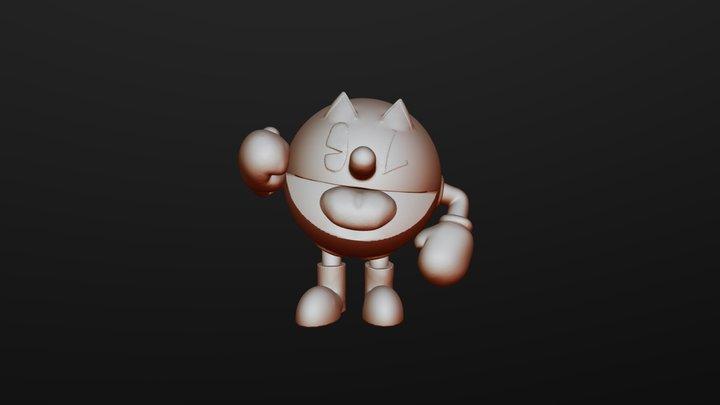 SculptJanuary2019: Day 5 - Spherical 3D Model